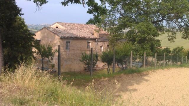 Casale nelle campagne di Sant'Elpidio a Mare vicino a Montegranaro