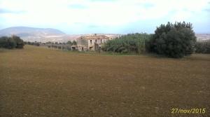 Casale con tre ettari di terreno in zona panoramica