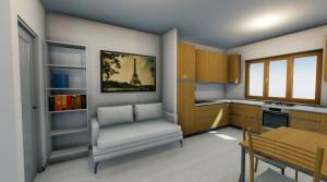 Appartamento con soffitta abitabile nuova costruzione