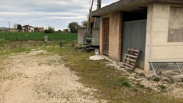 Terreno uso deposito attrezzatura edile